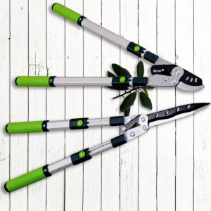 Garden Lopping Shears PTFE Coated Labor-Saving Telescopic Bypass Lopper pictures & photos