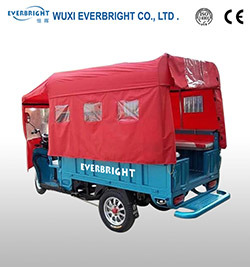 Popular 48V 8000W Electric Cargo Trike pictures & photos