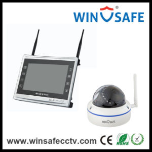 Home Security Video Recorder CCTV 4CH NVR Kit IP Camera pictures & photos