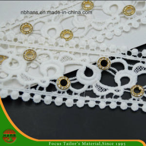 100% Cotton High Quality Embroidery Lace (HSS-1704) pictures & photos