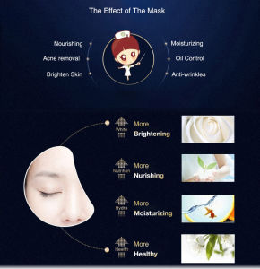 Zeal Skin Care Ganodorma Lucidum Natural Face Masks Sleeping Mask pictures & photos