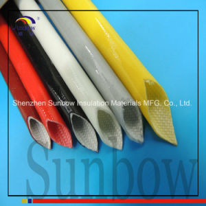 UL Sunbow 2.5kv Silicone Fiberglass Sleeving pictures & photos