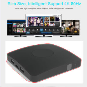 High Quality Factory Price Android TV Box Amlogic S905X up to 2.0 GHz, Quad Core Arm Cortex-A5 Support Kodi 17.0 pictures & photos