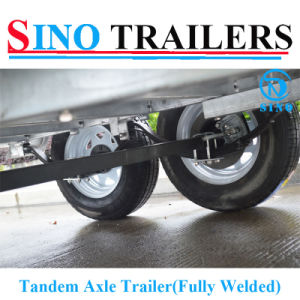 Cheap Tandem Axle Box Trailer pictures & photos