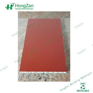 Smooth Surface Wood Grain Aluminum Honeycomb Panel for Interior Decoration pictures & photos