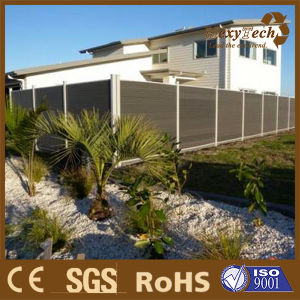 UV Resistance Australia Style Outdoor Garden Privacy Composite Wood Fence pictures & photos