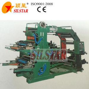 Four Color Flexo Plastic Printing Machine pictures & photos