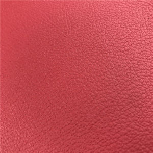 1.0mm to 3.0mm Bovine Fiber Leather for Furniture Automobile Carseat Cover pictures & photos