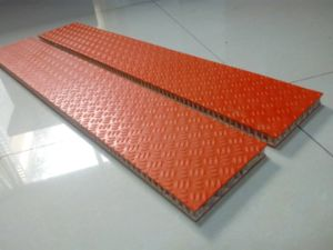 Anti Slip FRP/GRP Honeycomb Panels pictures & photos