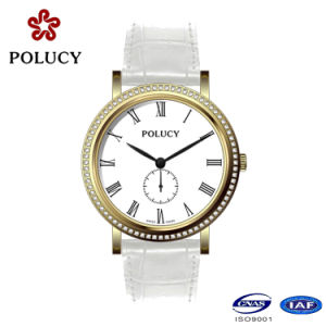 High Quality Genuine Leather Fashion Lady Watch pictures & photos