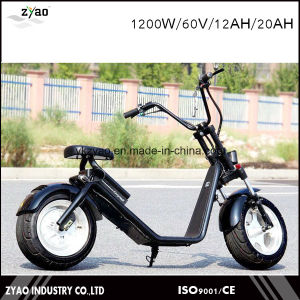 Harley Electronic Scooter with 60V Lituium Battery Portable for One Person pictures & photos