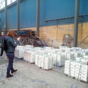 High Quality Pure Zinc Ingot 99.99% for Sale pictures & photos