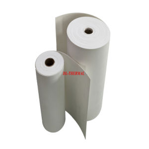 Refractory No Organic Binder Ceramic Fiber Paper Glassfiber Paper Filter pictures & photos