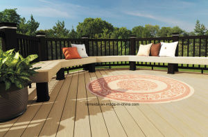 High Quality Co-Extrusion Wood Plastic Composite WPC Decking pictures & photos