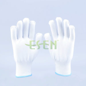 13 Gauge Best Personal Protective Polyester Knitted Safety Gloves pictures & photos