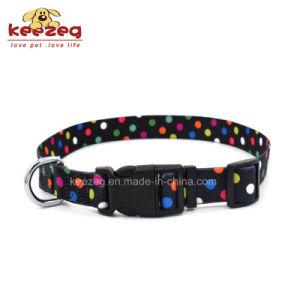 New Style Transfer Printing Nylon Dog Cat Collars /Small/Medium (KC0096) pictures & photos