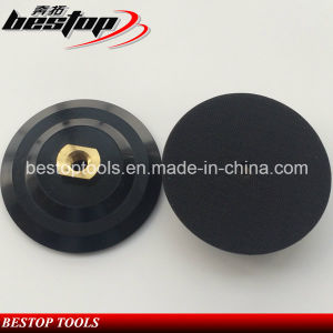 """4"""" 100mm Rubber Backer Pad with 5/8""""-11 Threaded Connection pictures & photos"""