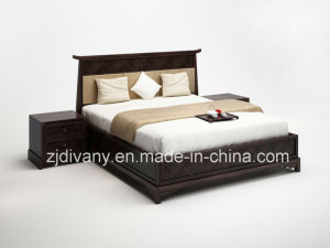 Chinese Style Bedroom Furniture Wood Bed (CH-5401) pictures & photos