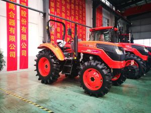 New 110HP Four-Wheel Driving Wheel Tractor with Diesel Engine of Kubota Type (OX1104) pictures & photos