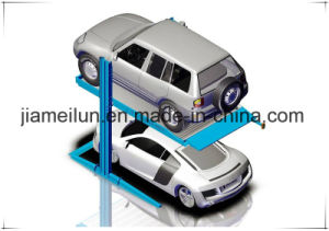 Parking Simple Two Post Hydraulic 2 Post 2 Floor Parking Lift pictures & photos