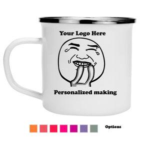 Wholesale Customized Cup Logo Printing Camping Enamel Mug pictures & photos