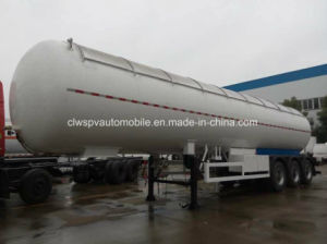 3 Axles 56 Cbm M3 Gas Tanker 56000 Liters Heavy Duty LPG Tank Trailer pictures & photos