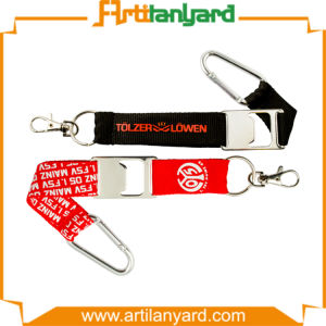 Customized Short Lanyard with Key Chain pictures & photos