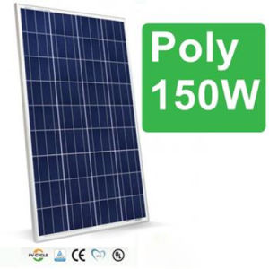 150W Poly Solar Panel with A Grade Solar Cell pictures & photos