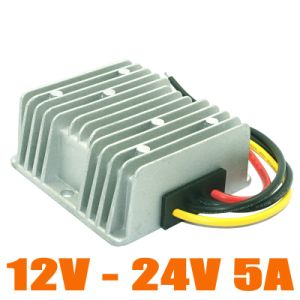 120W 9-16V to 24V DC/DC Converter Boost Power Converter 12V-24V 5A DC Step up Voltage Regulator pictures & photos