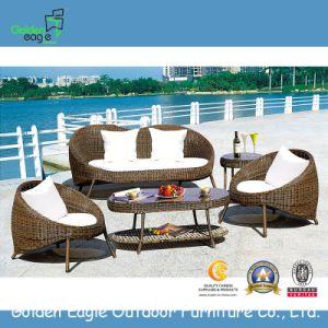 Round Rattan Garden Wicker Patio Furniture (FP0042) pictures & photos