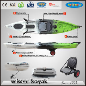 2017 New Fishing Boat Sit on Top Fishing Kayak Angler pictures & photos