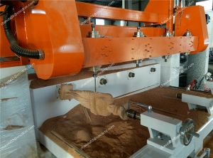 Wooden Statue Sculptures Engraving CNC Router for 3D Craft Industry pictures & photos