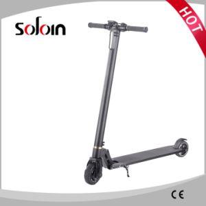 LED Light Folding Carbon Fiber/Aluminium Alloy Electric Scooter (SZE250S-6) pictures & photos