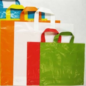 Custom Design Logo Printing Plastic Shopping Bag for Clothing pictures & photos