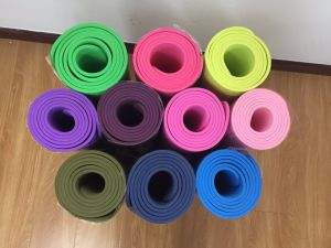 Comfortable TPE Custom Yoga Mat with Bag pictures & photos