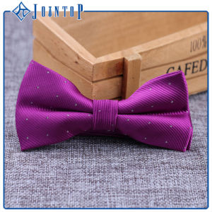 100% Silk Solid Colors Colourful Glisten Bow Tie pictures & photos
