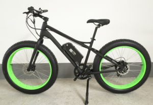 Fat Electric Bicycle with 26inch Wheel Rim 4.0 Fat Tire pictures & photos
