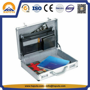 Aluminium Business Attache Laptop Brief Vanity Case (HL-2601) pictures & photos