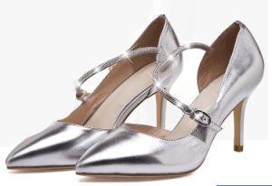Sharp Toe Women High-Heeled Sandals pictures & photos