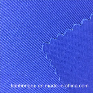 Light Yellow Water Proof Woven Fabric Work Wear Flame Retardant Cotton Fabric pictures & photos