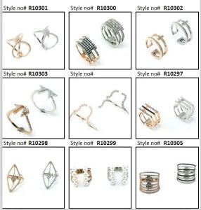 China Wholesale 925 Sterling Silver/Copper/Stainless Steel Costume Jewelry as Gift Fashion Ring for Wedding (R10399) pictures & photos