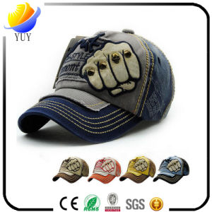 Hot Sell Cotton Flat Visor Fashion Cap Sports Hat and Baseball Cap pictures & photos