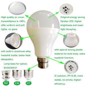 5W 7W 9W 12W 15W E27/B22 LED Light Bulb pictures & photos
