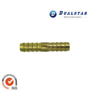 Brass Pipe Fittings with Double Hosetail pictures & photos
