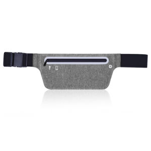 New Heather Grey Jogging Running Belt Waist Bag with Reflective Srtipe pictures & photos