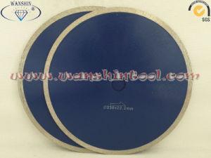 Continous Rim Diamond Saw Blade for Marble Diamond Discs Diamond Tool pictures & photos