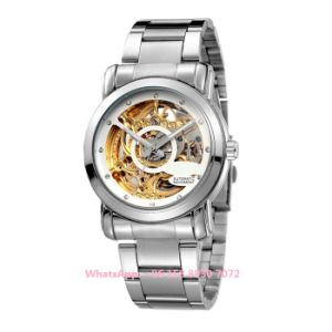 Simple Popular Automatic Men′s Watch with Stainless Steel Strap Fs624 pictures & photos