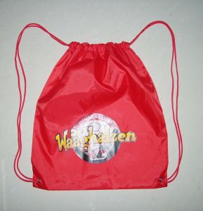 Competitive Promotion Polyester Drawstring Bag pictures & photos