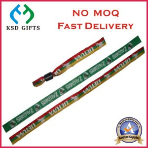 Professional Factory Direct Sale Woven Wrist Band No MOQ (KSD-985) pictures & photos