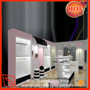 Retail Cosmetics Store Furniture POS Display System Wooden Cosmetic Display pictures & photos